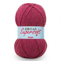 Sirdar Supersoft Aran 100g - RRP £3.67 OUR PRICE FROM £1.99